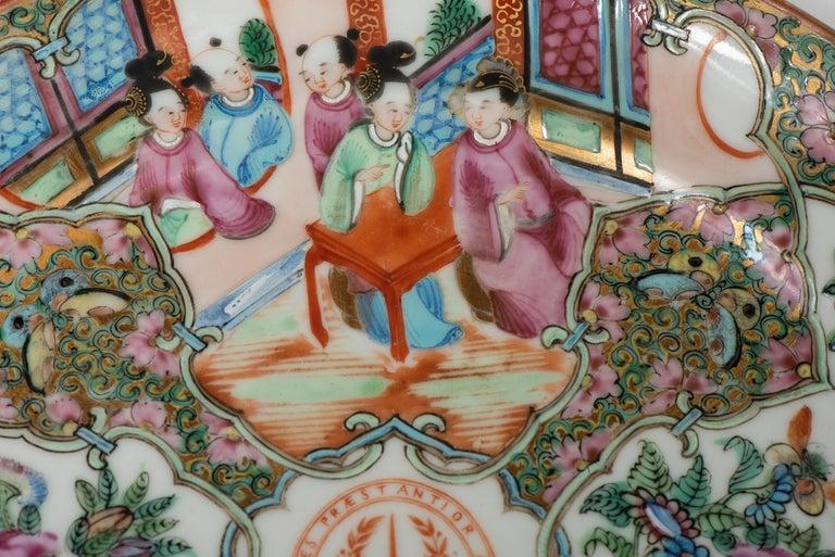 Set of Twelve Famille Vert Porcelain Plates, China circa 1900 For Sale 6