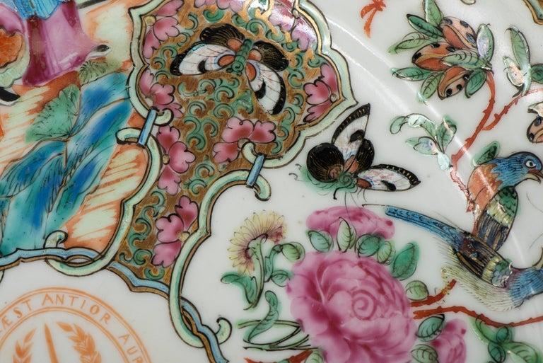 Set of Twelve Famille Vert Porcelain Plates, China circa 1900 For Sale 9