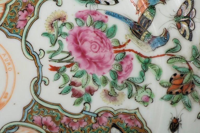 Set of Twelve Famille Vert Porcelain Plates, China circa 1900 For Sale 10