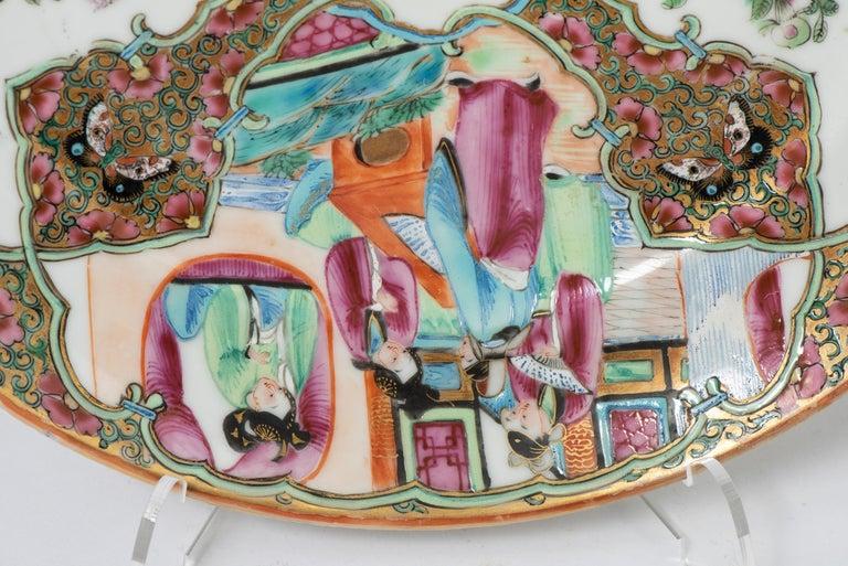 Set of Twelve Famille Vert Porcelain Plates, China circa 1900 For Sale 1