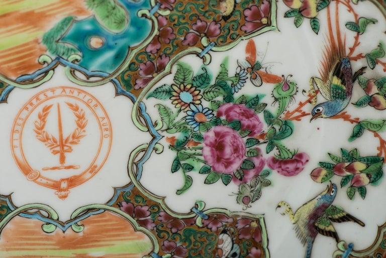 Set of Twelve Famille Vert Porcelain Plates, China circa 1900 For Sale 4