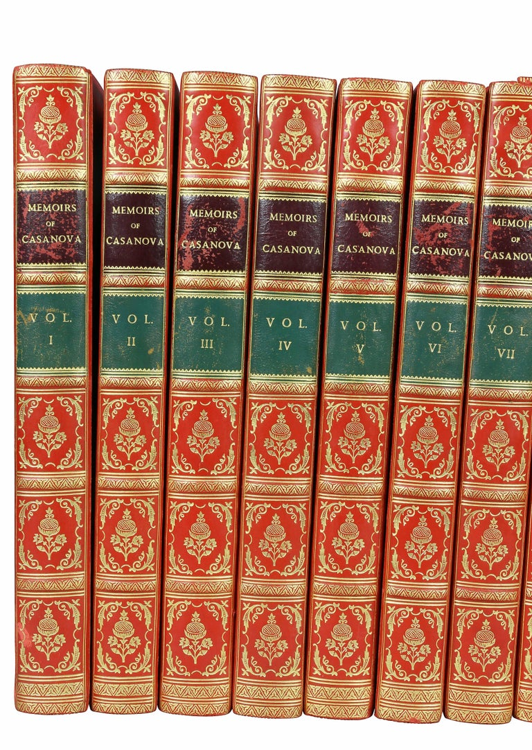 Nicely bound and numbered 992 out of 1,000. Printed in London by the Casanova society in 1922.