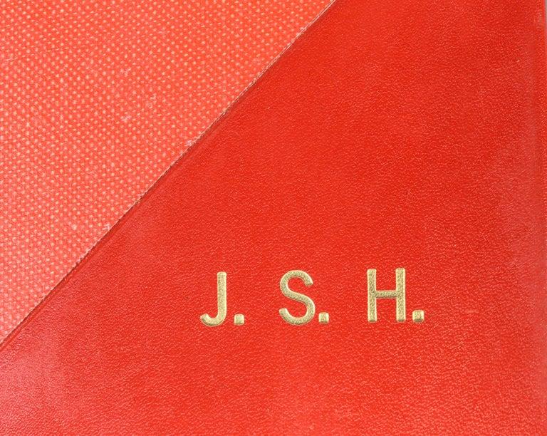 20th Century Set of 12 Leather Bound Volumes, Memoirs Casanova For Sale