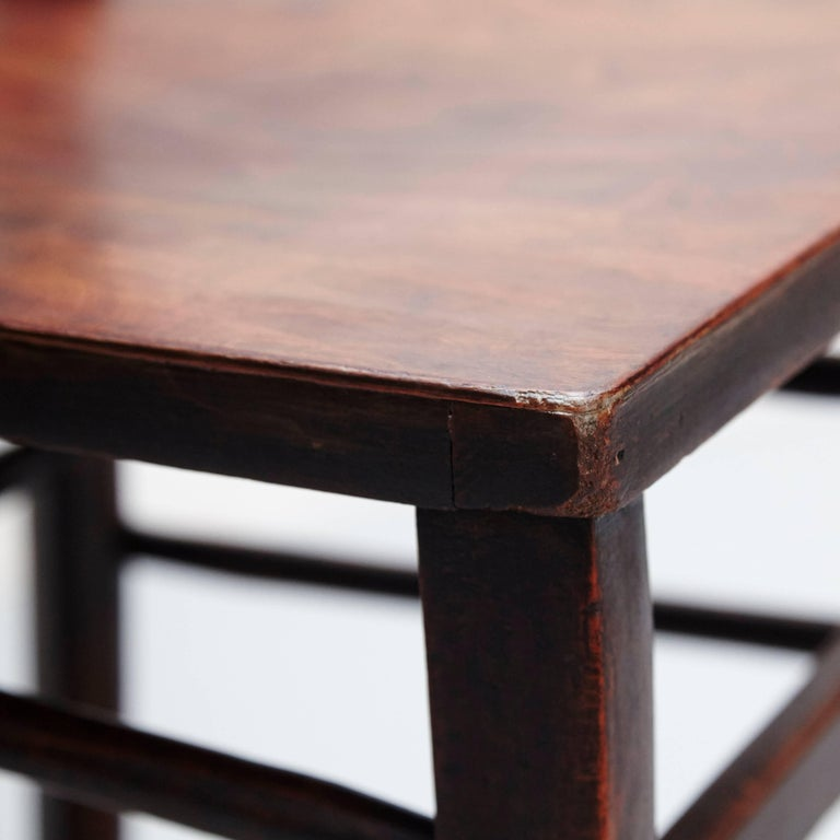 Set of Twelve Luterma Bistro Wood Chairs For Sale 3
