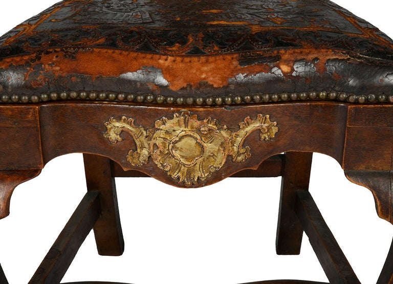 Set of Twelve Portuguese 18th Century Dining Chairs For Sale 1