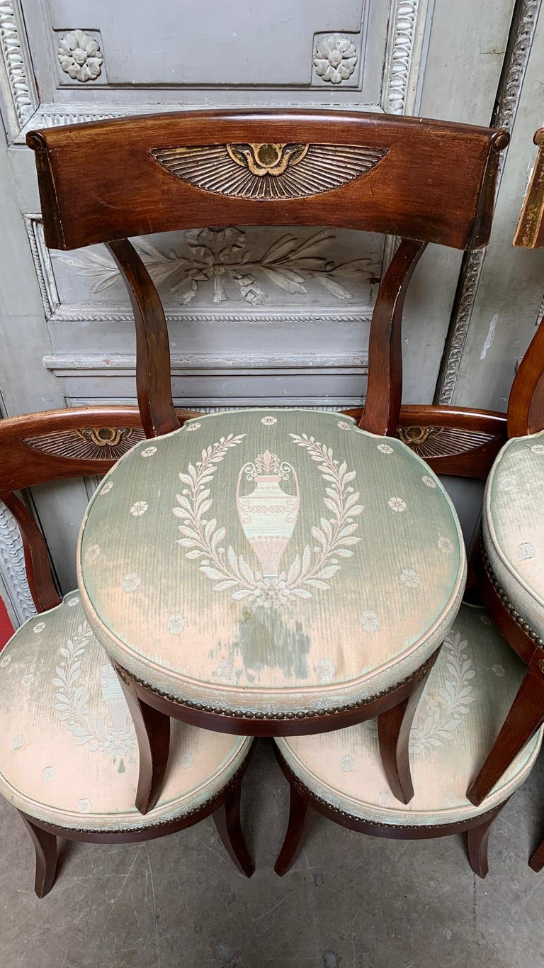 Set of Twelve Regence style Dining Chairs For Sale 9