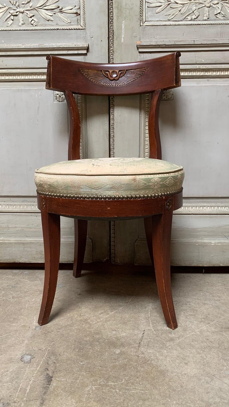 American Set of Twelve Regence style Dining Chairs For Sale