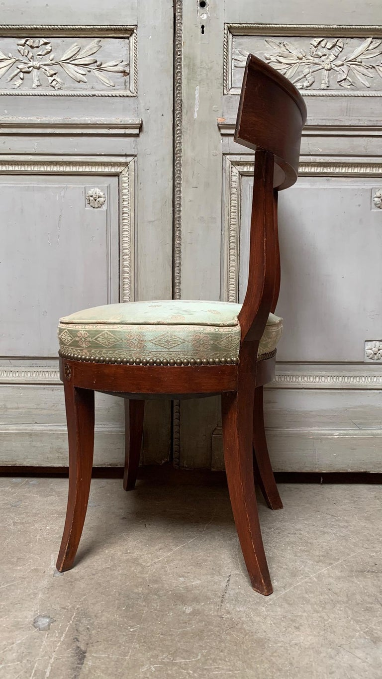 Carved Set of Twelve Regence style Dining Chairs For Sale