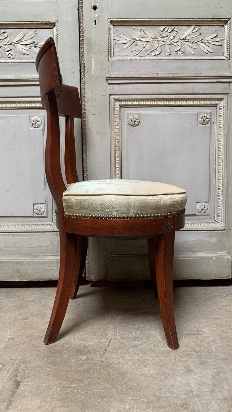 20th Century Set of Twelve Regence style Dining Chairs For Sale