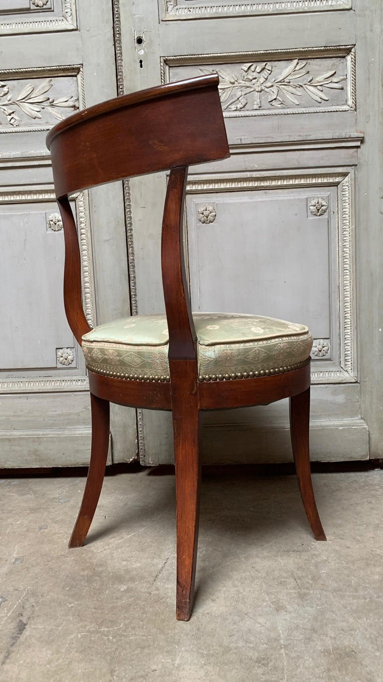 Wood Set of Twelve Regence style Dining Chairs For Sale