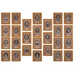 Set of Twenty-Six Italian 18th Century Louis XVI Period Prints