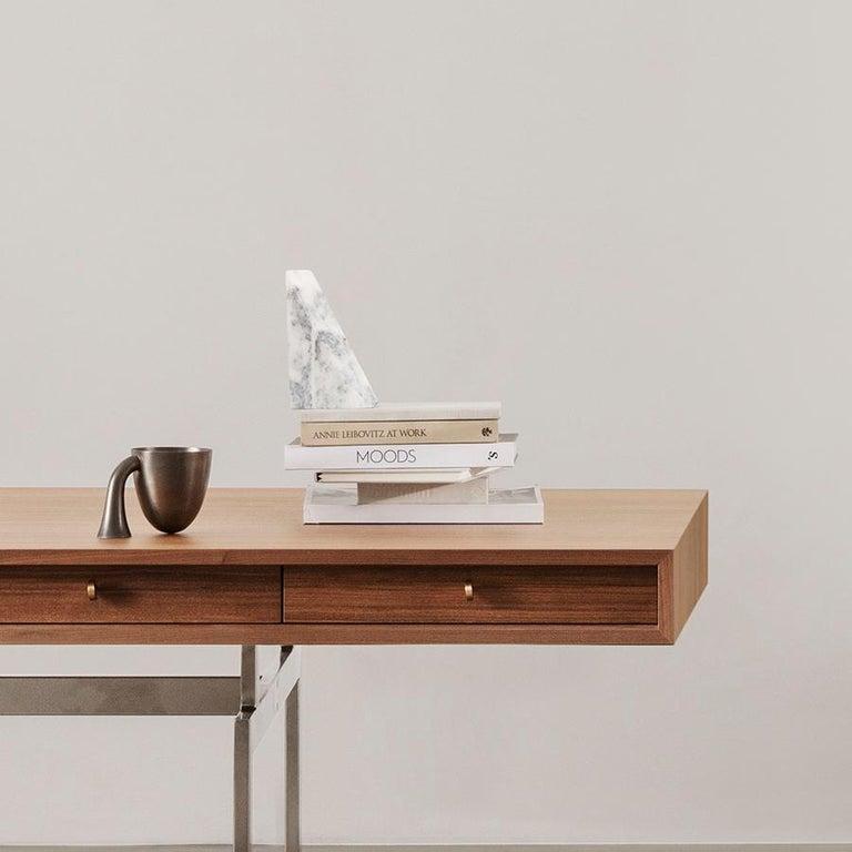 Set of Two Aldo Bakker Tin Vessel 'Support' by Karakter For Sale 1
