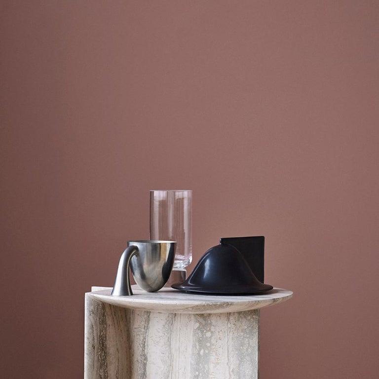 Set of Two Aldo Bakker Tin Vessel 'Support' by Karakter For Sale 2