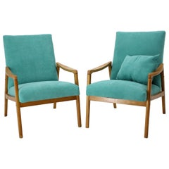 Set of Two Armchairs, 1960s