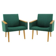 Set of Two Armchairs, 1970s