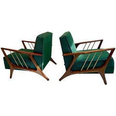 Set of Two Armchairs by Eugenio Escudero