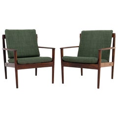 Set of Two Armchairs by Grete Jalk