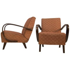 Set of Two Armchairs by Jindrich Halabala, 1940s