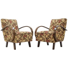 Set of Two Armchairs by Jindřich Halabala, 1950s