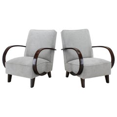Set of Two Armchairs by Jindrich Halabala, 1960s