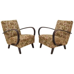 Set of Two Armchairs by Jindrich Halabala, 1950's