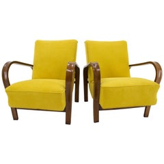 Set of Two Armchairs by Karel Kozelka and Antonin Kropacek, 1940s