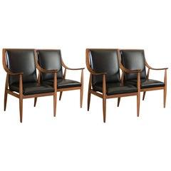 Set of Two Armchairs by Silvio Cavatorta