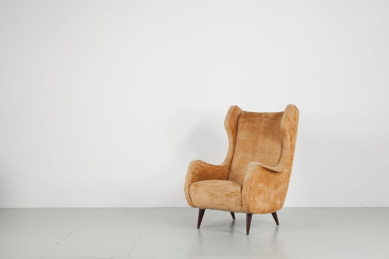 Set of Two Armchairs, Italy, 1950s For Sale 3