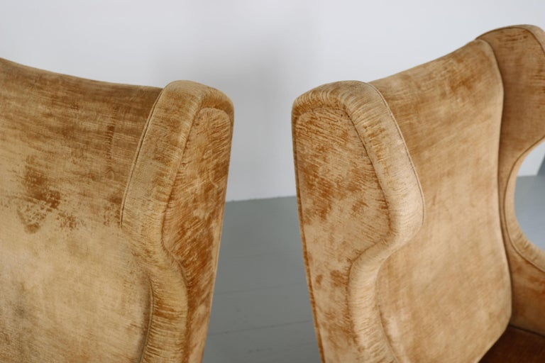 Set of Two Armchairs, Italy, 1950s For Sale 6