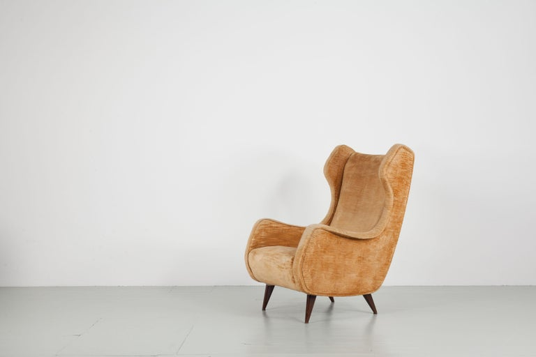 Set of Two Armchairs, Italy, 1950s For Sale 2