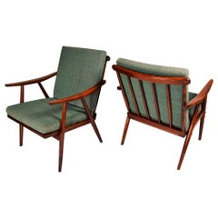 Set of Two Armchairs Ton, 1960s
