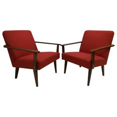 Set of Two Armchairs /Ton, 1960's