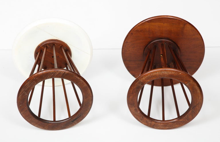 Set of Two Arthur Umanoff Side Tables for Washington Woodcraft For Sale 4