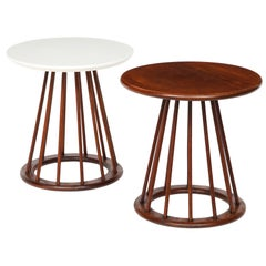 Set of Two Arthur Umanoff Side Tables for Washington Woodcraft