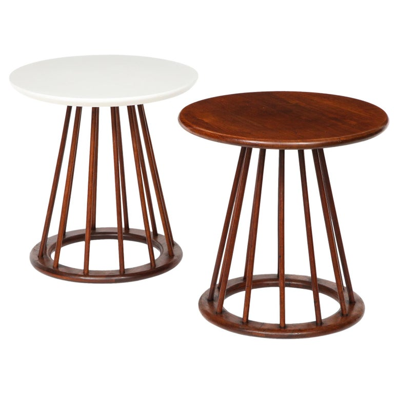 Set of Two Arthur Umanoff Side Tables for Washington Woodcraft For Sale