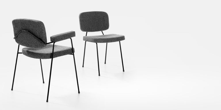 Set of Two Artifort Moulin Chairs in Raf Simons Fabric by Pierre Paulin In Excellent Condition For Sale In New York, NY