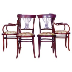 Set of Two Chairs and Two Armchairs, 1890s
