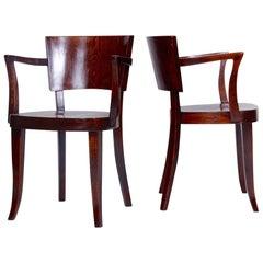 Satz aus Zwei Stühlen von Thonet, 1920er