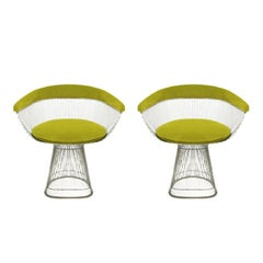 Set of two Chairs Designed by Warren Platner and Edited by Knoll
