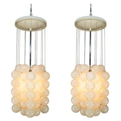 Set of Two Chandeliers by Napako, 1970s