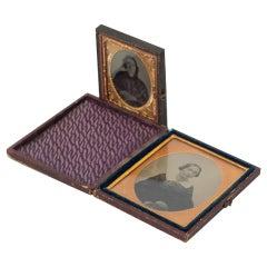 Set of Two Daguerrotypes, circa 1850
