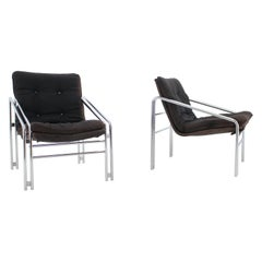 Set of Two Design Lounge Chairs, Germany