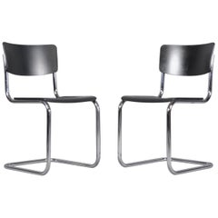Set of Two Dining Chairs S43 by Mart Stam for Thonet, 1931