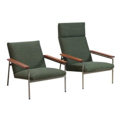 Set of Two Dutch Modernist Rob Parry Design Armchairs for Gelderland, 1950s
