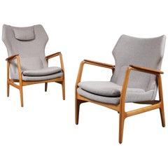 Set Zwei Sessel von Aksel Bender Madsen für Bovenkamp, circa 1950