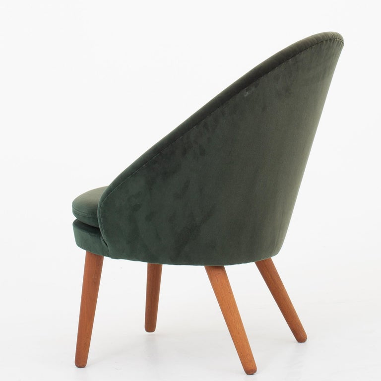 Scandinavian Modern Set of Two Easy Chairs by Ejvind A. Johansson For Sale