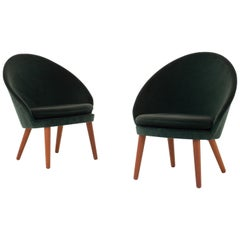 Set of Two Easy Chairs by Ejvind A. Johansson
