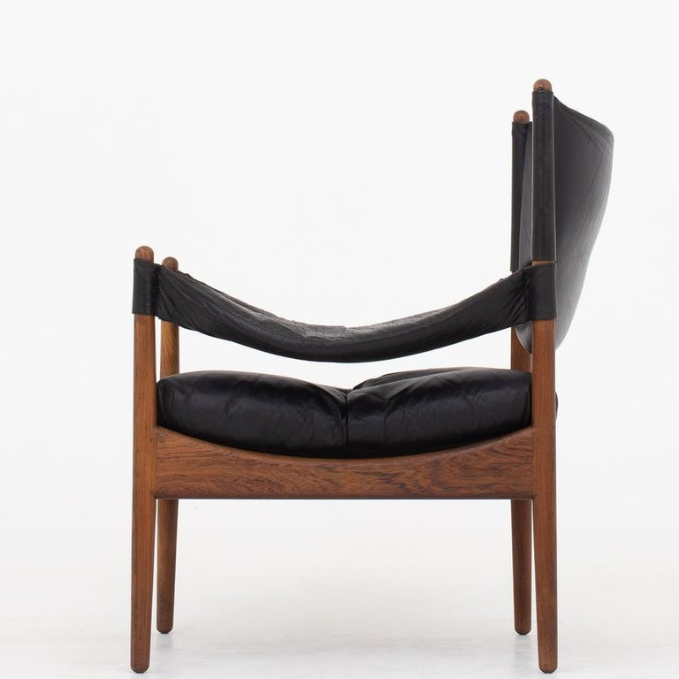 Scandinavian Modern Set of Two Easy Chairs by Kristian Vedel