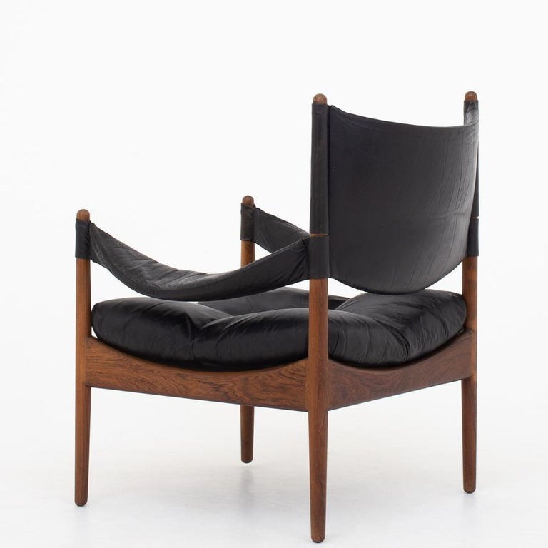 Danish Set of Two Easy Chairs by Kristian Vedel