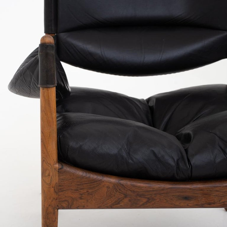 Set of Two Easy Chairs by Kristian Vedel In Good Condition In Copenhagen, DK